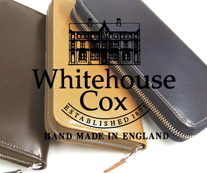 WhitehouseCox/ホワイトハウスコックス/S-2622/ロングジップウォレット/フルジップ/長財布/イギリス製/CPOINT