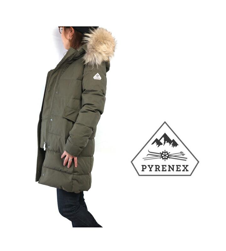 pyrenex/ピレネックス/women/レディース/GrenobleJacket/グルノーブルジャケット/DownJacket/ダウンジャケット/フード/リアルファー/フランス/Japan/フレンチダックダウン/cpoint