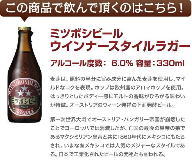 ミツボシビール ウインナースタイルラガー