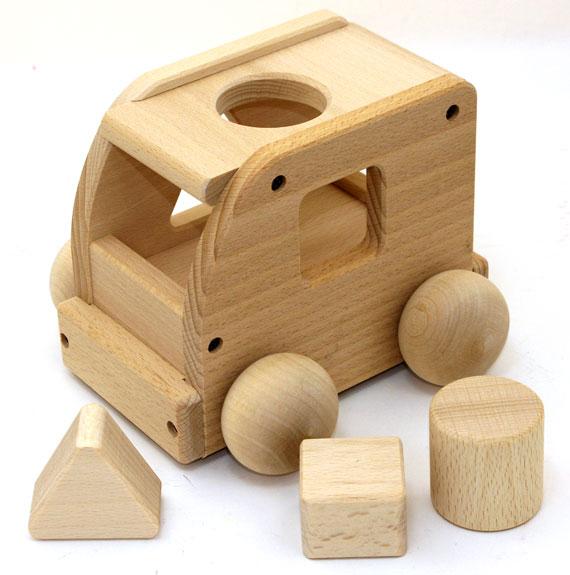 |森のメロディーバス|日本製 木のおもちゃ オルゴール