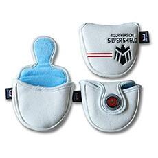 CRAFTSMAN(クラフトマン) パターカバー Silver Shield シールド刺繍 マレット対応