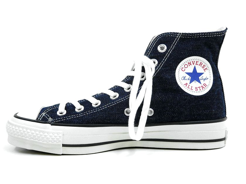 new goods made in Japan CONVERSE Converse ALL STAR J DENIM HI all ... a07cb2c3511d1