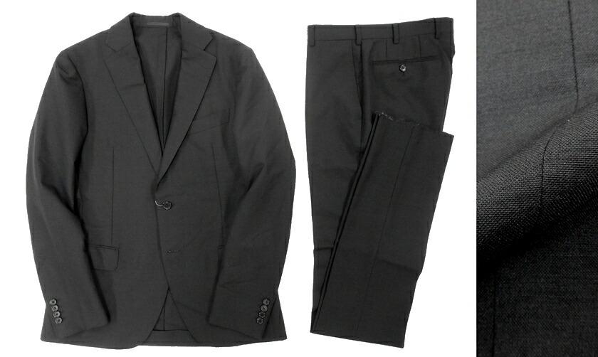 7434b43a8de5f2 定価14万 MACKINTOSH LONDON マッキントッシュ ロンドン サマーウール スーツ セットアップ ブラック /ka20180717-6 / メンズ:CRAWLER - 9fe89