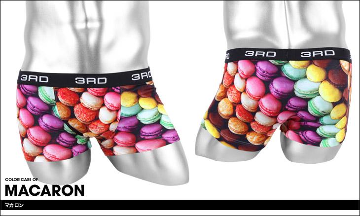 3RDWARE サードウェア MACARON メンズ ボクサーパンツ カラー画像
