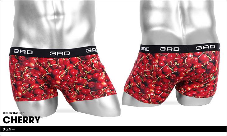 3RDWARE サードウェア cherry メンズ ボクサーパンツ カラー画像