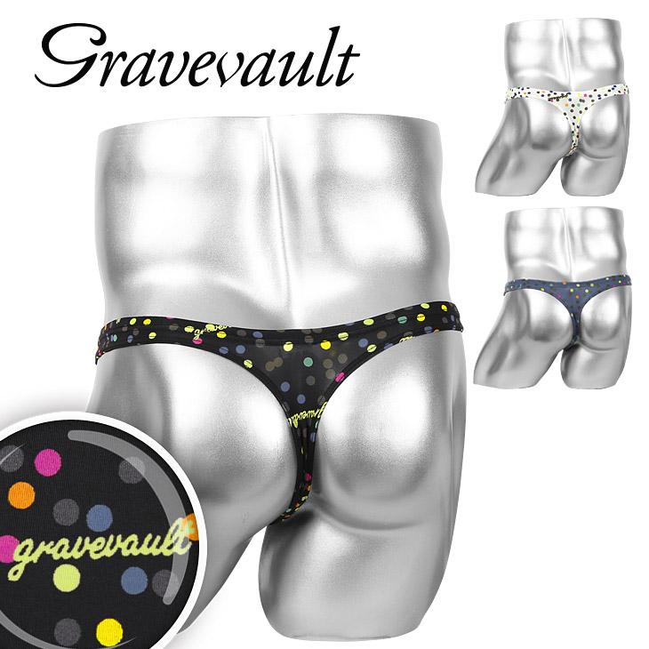 Gravevault/グレイブボールト Dot メンズ Tバック