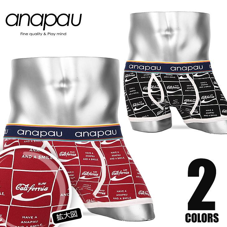 anapau アナパウ カリフォルニア  ボクサーパンツ メイン画像