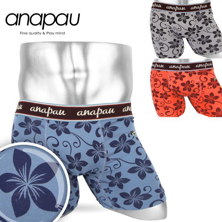 anapau アナパウ ハニーフラワー メンズ ボクサーパンツ メイン画像