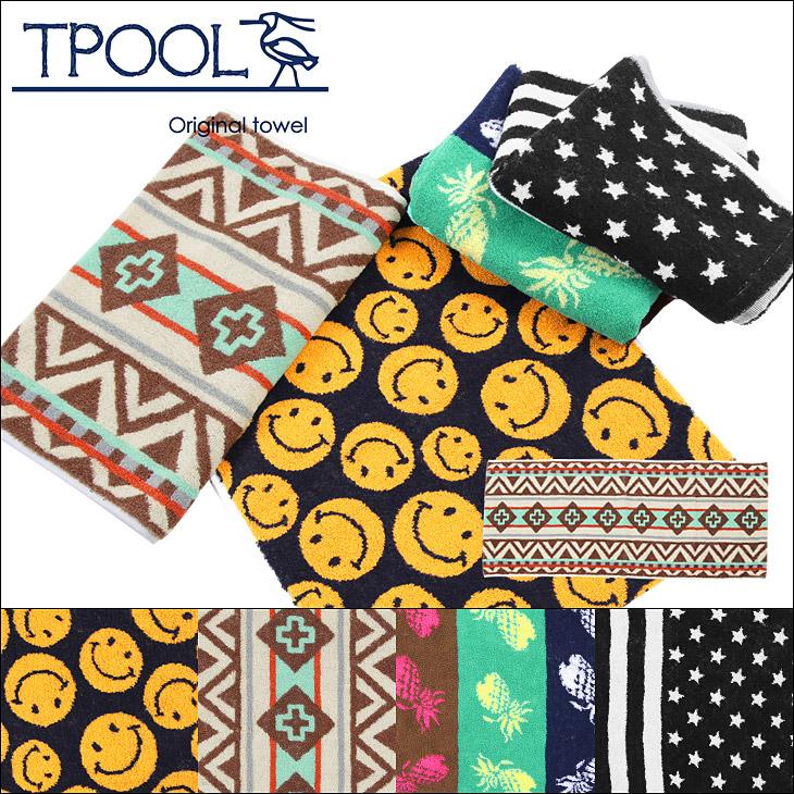 anapau アナパウ TPOOL/トゥプール FACE TOWEL メイン画像