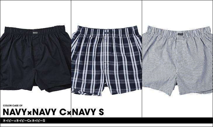 Calvin Klein カルバンクライン 3pack woven カラー画像