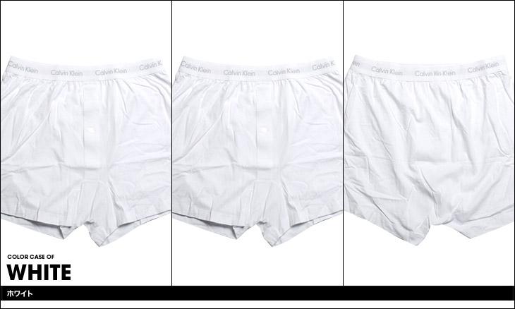 Calvin Klein カルバンクライン Cotton Classics 3pack Knit Boxer カラー画像