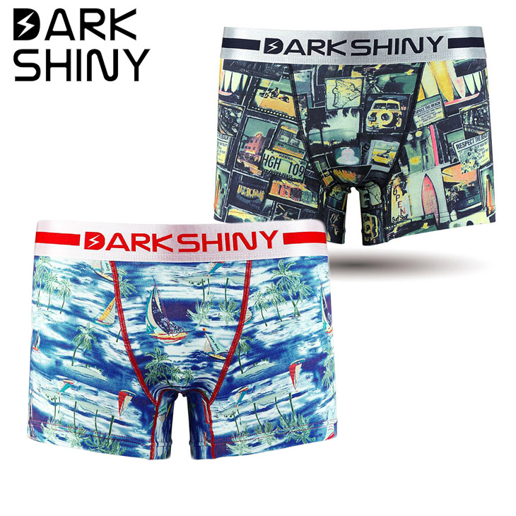 DARK SHINY ダークシャイニー Endless Summer Sailing Boat ボクサーパンツ メイン画像