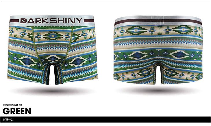 DARK SHINY ダークシャイニー Ethnic ボクサーパンツ カラー画像