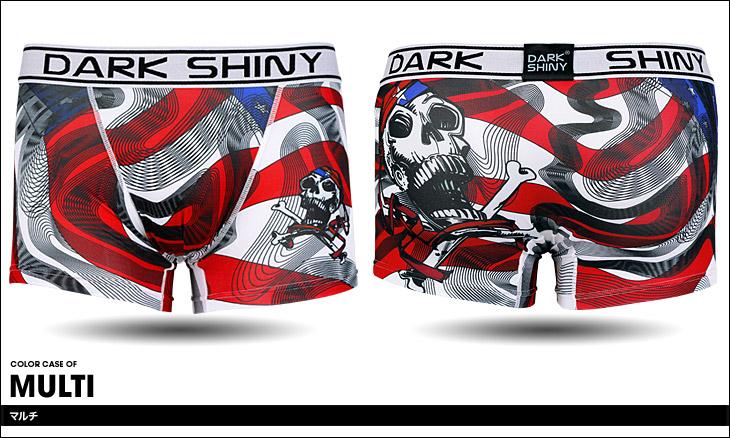 DARK SHINY ダークシャイニー Amelican Skull ボクサーパンツ カラー画像