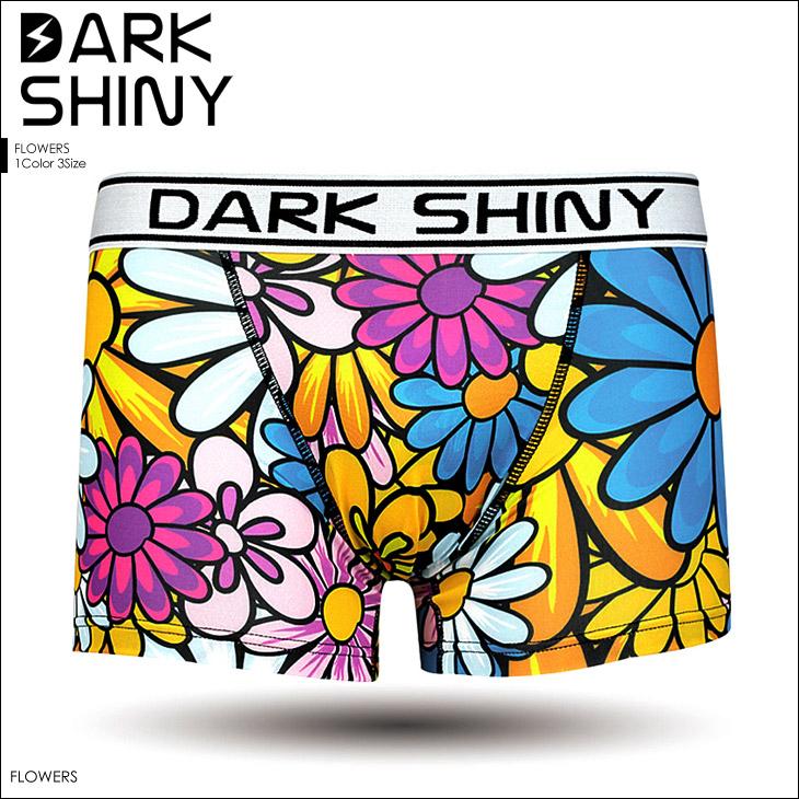 DARK SHINY ダークシャイニー フラワー ボクサーパンツ メイン画像