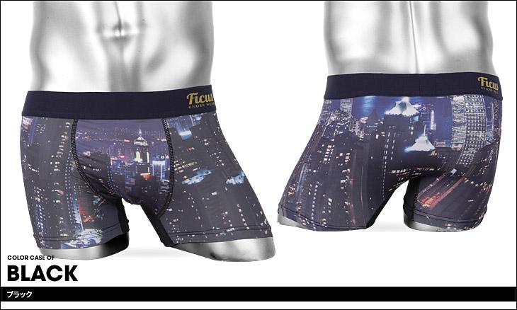 FICUS フィークス City Night ボクサーパンツ カラー画像