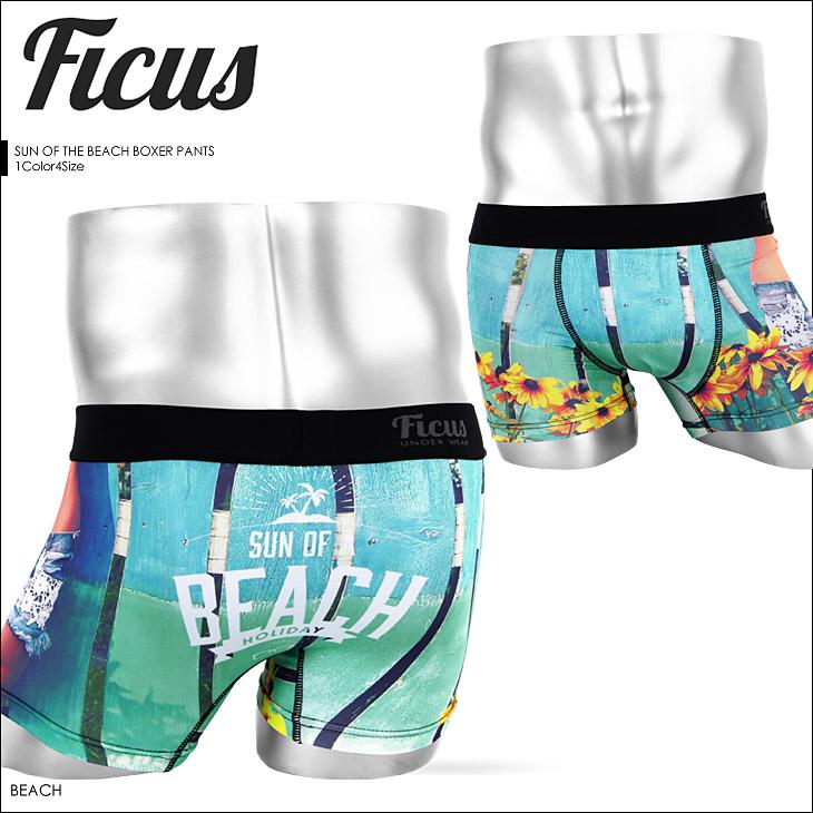 FICUS フィークス SUN OF THE BEACH メンズ ボクサーパンツ メイン画像