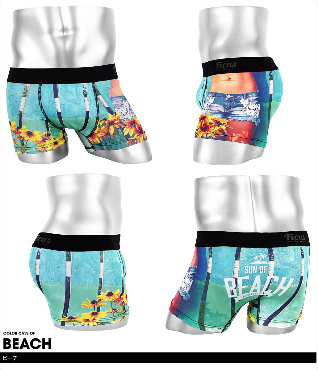 FICUS フィークス SUN OF THE BEACH メンズ ボクサーパンツ カラー画像