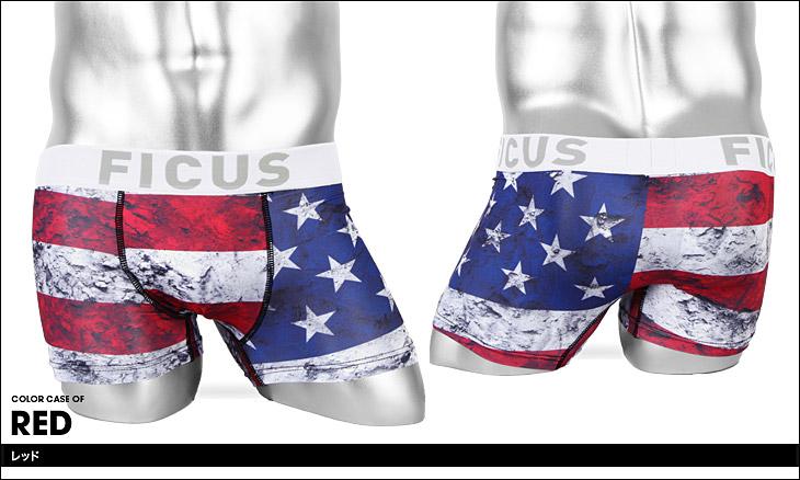 FICUS フィークス USA メンズ ボクサーパンツ カラー画像