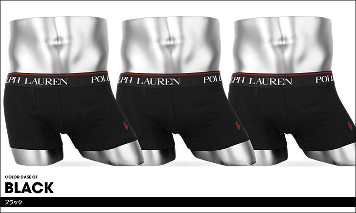POLO RALPH LAUREN ポロ ラルフローレン COTTON STTRECH 3pack ボクサーパンツ カラー画像