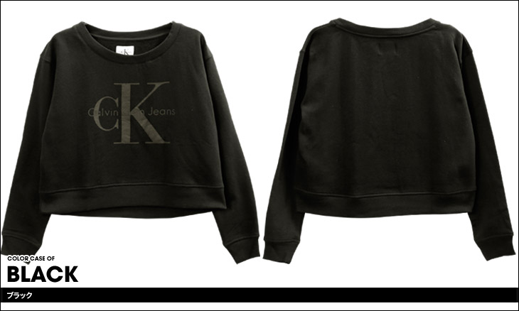 Calvin Klein カルバンクライン TONAL LOGO レディース スウェット カラー画像