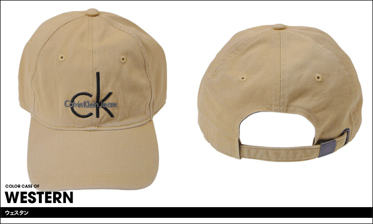 Calvin Klein カルバンクライン CK LOGO メンズ キャップ カラー画像