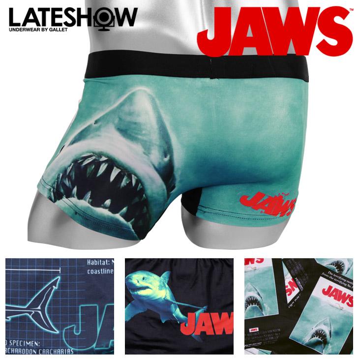 LATESHOW レイトショー JAWS×LATESHOW メンズ ボクサーパンツ メイン画像