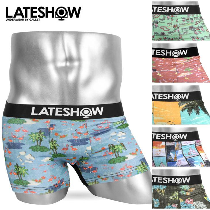 LATESHOW レイトショー RETORO SURF メンズ ボクサーパンツ メイン画像