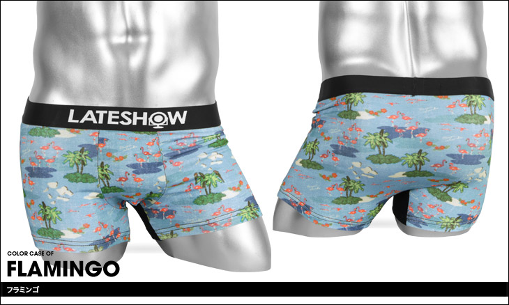 LATESHOW レイトショー RETORO SURF メンズ ボクサーパンツ カラー画像