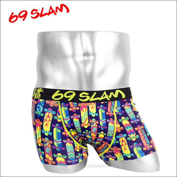 69SLAM ロックスラム LONGBOARD メンズ ボクサーパンツ メイン画像