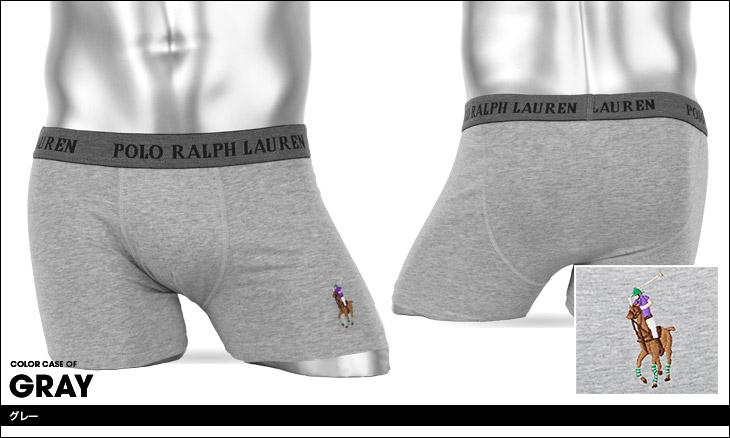 POLO RALPH LAUREN ポロ ラルフローレン STRETCH POUCH BOXER BRIEF ボクサーパンツ カラー画像