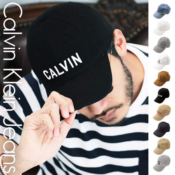 Calvin Klein カルバンクライン CK LOGO メンズ キャップ メイン画像