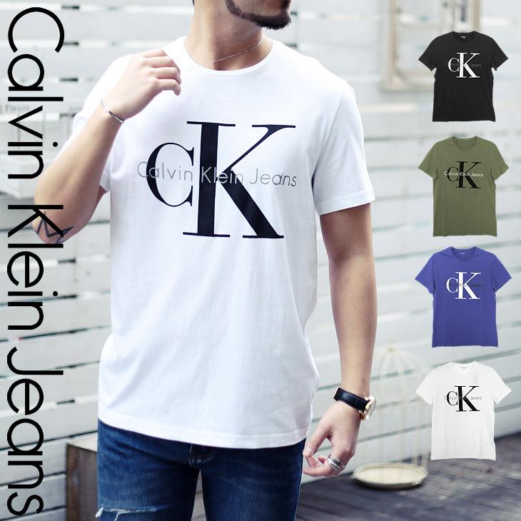Calvin Klein カルバンクライン REISSUE BIG LOGO メンズ クルーネック 半袖 Tシャツ メイン画像