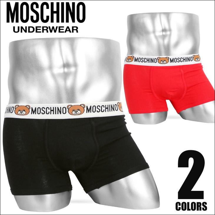 MOSCHINO モスキーノ Teddy Logo メンズ ボクサーパンツ メイン画像