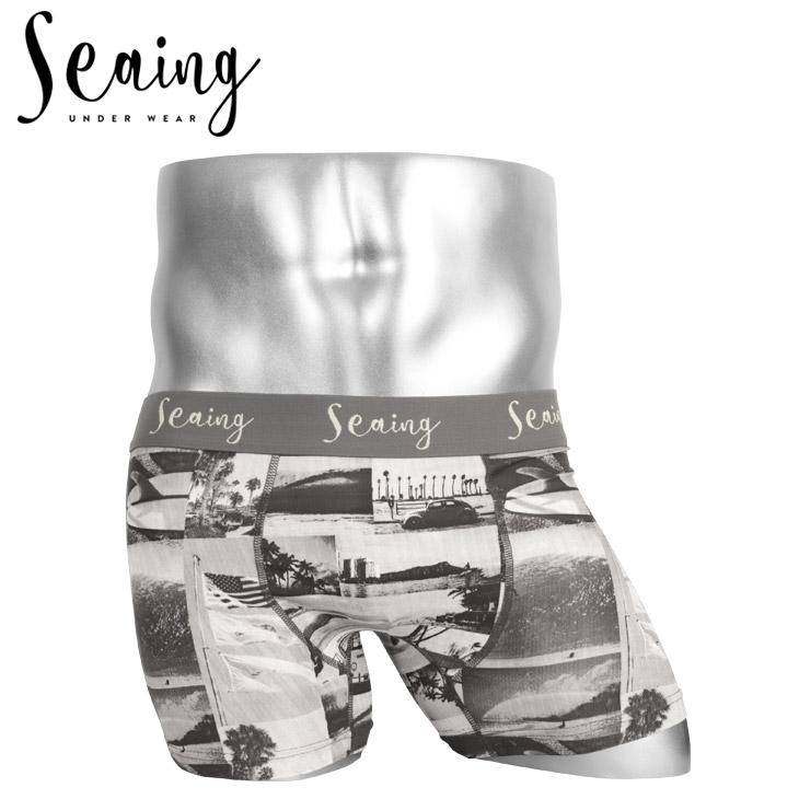 Seaing シーング PHOTO メンズ ボクサーパンツ メイン画像