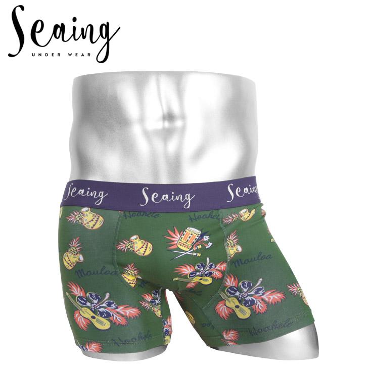 Seaing シーング HAWAIIAN BAND メンズ ボクサーパンツ メイン画像