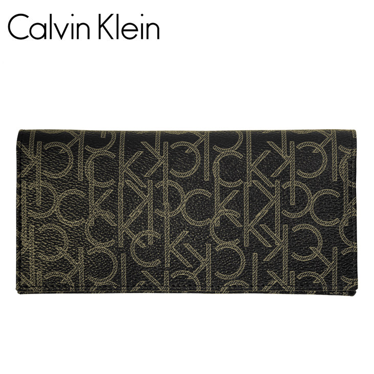 Calvin Klein カルバンクライン Monogram メンズ 長財布 メイン画像