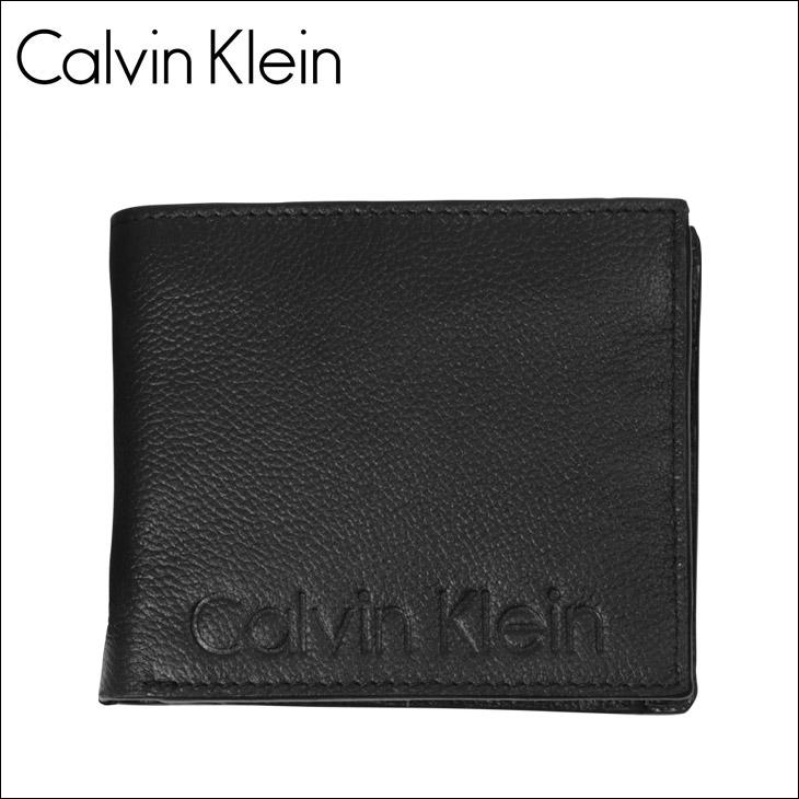 Calvin Klein カルバンクライン simple logo メンズ 二つ折り財布 メイン画像