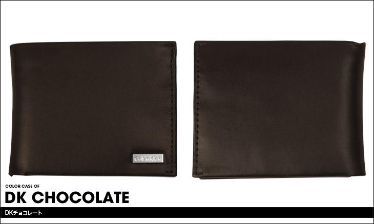 Calvin Klein カルバンクライン メタルロゴ メンズ 二つ折り財布 カラー画像