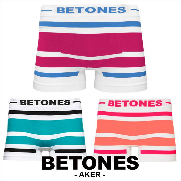 BETONES ビトーンズ AKER メンズ ボクサーパンツ ボーダー メイン画像