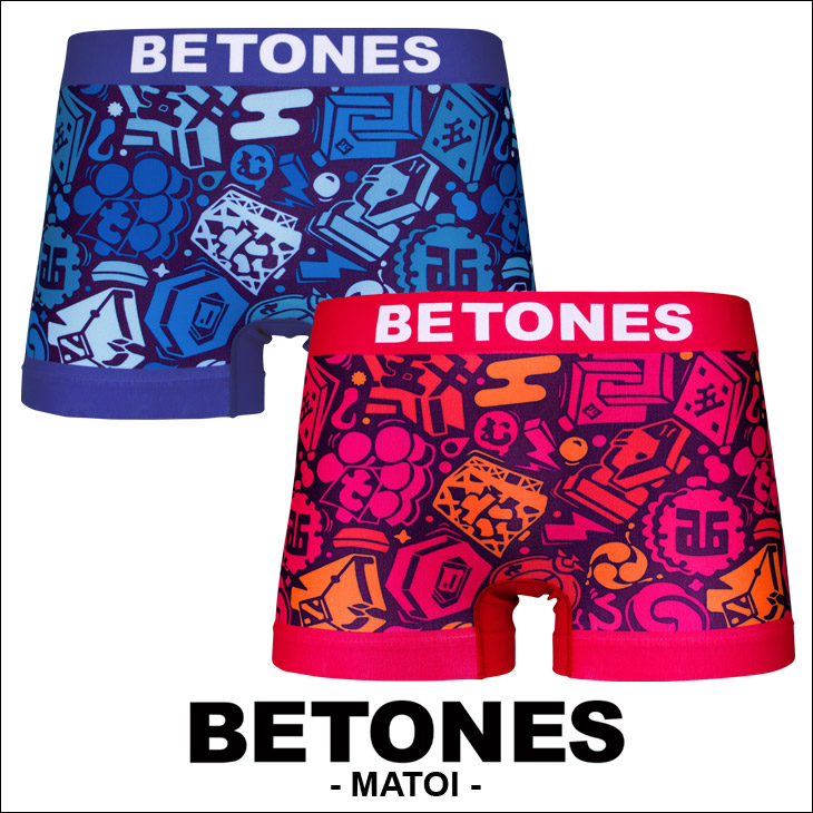 BETONES ビトーンズ MATOI メンズボクサーパンツ メイン画像