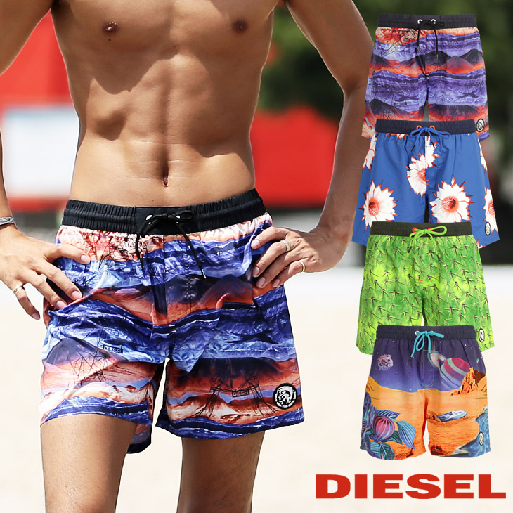 DIESEL ディーゼル Sandy Swim メンズ ショート サーフパンツ メイン画像