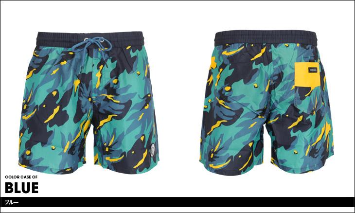 DIESEL ディーゼル BMBX SANDY CAMO メンズ サーフパンツ カラー画像