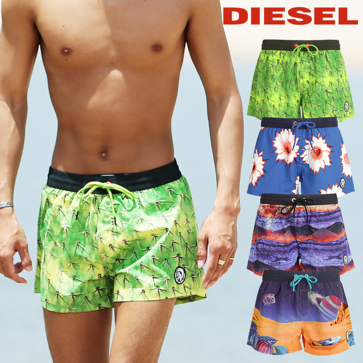DIESEL ディーゼル Sandy Swim メンズ サーフパンツ メイン画像