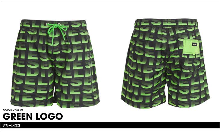 DIESEL ディーゼル LOGO3 メンズ サーフパンツ カラー画像