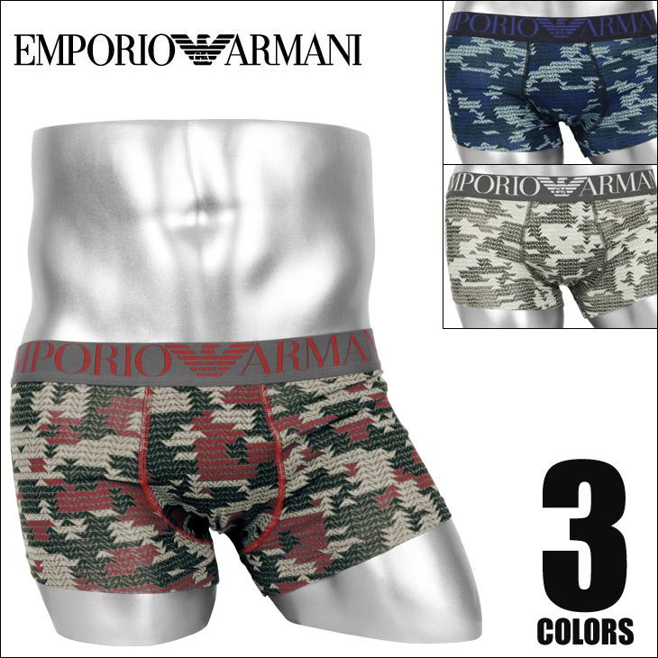 EMPORIO ARMANI エンポリオアルマーニ EAGLE  MONOGRAM メンズ ローライズボクサーパンツ メイン画像