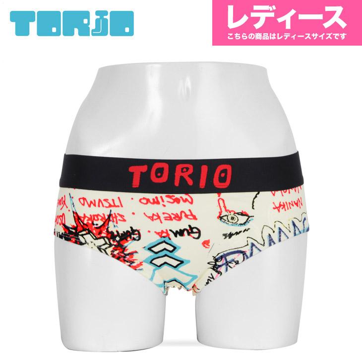 TORIO トリオ グラフィティ レディース ボクサーショーツ メイン画像