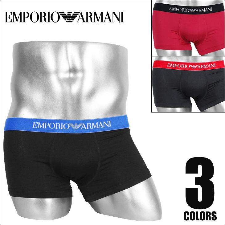 EMPORIO ARMANI エンポリオアルマーニ BASIC MICROFIBER メンズ ボクサーパンツ メイン画像