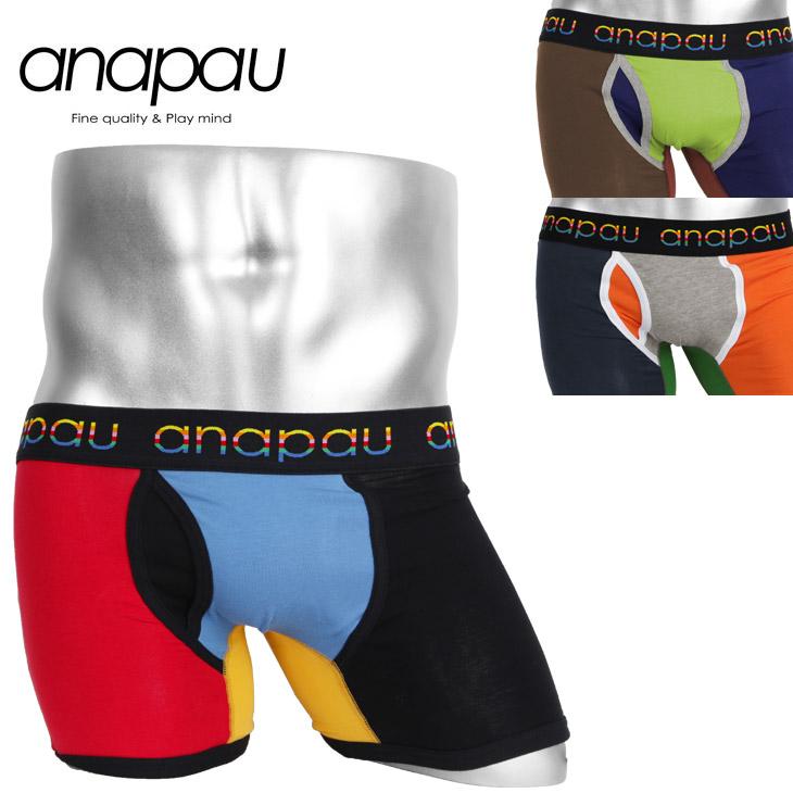 anapau アナパウ クレイジーVI メンズ ボクサーパンツ メイン画像