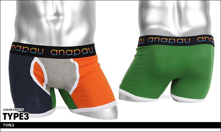 anapau アナパウ クレイジーVI メンズ ボクサーパンツ カラー画像